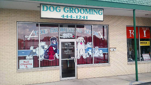 Grooming business for sale or lease established dog grooming shop 20 years for sale in tinley park located on oak park ave and 167th intersection in a plaza with ace hardware solutioingenieria Gallery