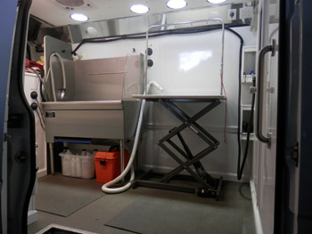 Van Is Meticulously Cared For In Cleanliness And Service Maintenance This Thriving Well Established Mobile Pet Grooming Business Continually Offers High