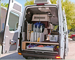 This 2008 Diesel 1500 Sprinter Is A First Class Conversion Van For Dog Shows Only 7650 Miles Like New Entirely Insulated
