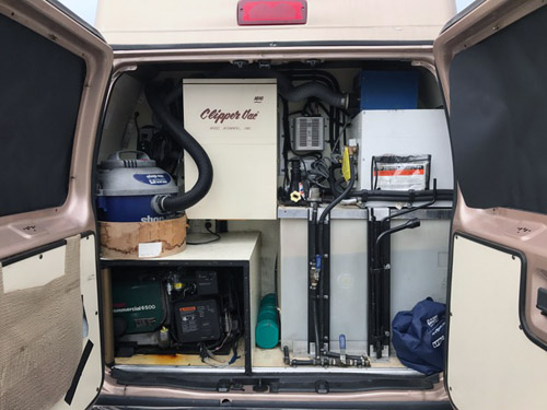 Up For Sale Is My Odyssey Conversion Mobile Grooming Van Original Owner All Maintenance Records Runs Great Has Everything